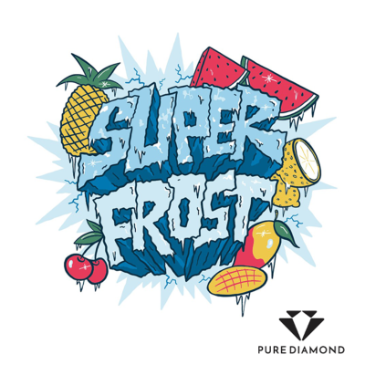 Super Frost 10ml - Blue Granite, 0 mg