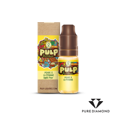 Pulp Kitchen 10 ml Poire à la Pomme, 0 mg