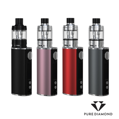 Kit istick T80w TC + Melo 4 D25 Black