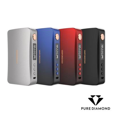 Box GEN 220w Vaporesso - Rouge
