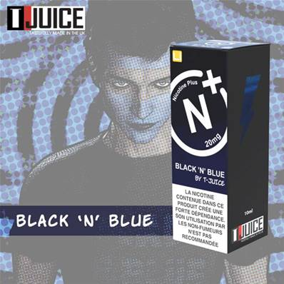 Black N Blue Nicotine Plus 10 mg
