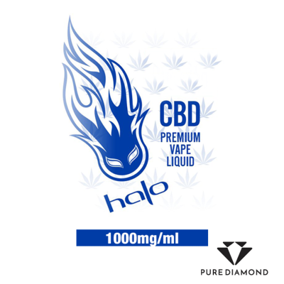 Halo CBD 30ml - Subzero, 1000 mg
