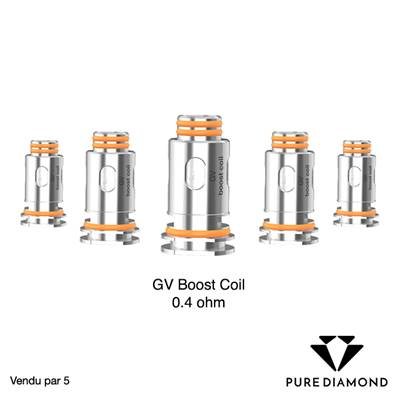 Résistances Aegis Boost 0.4 ohm