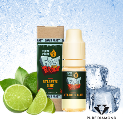 Super Frost 10ml - Atlantic Lime, 0 mg